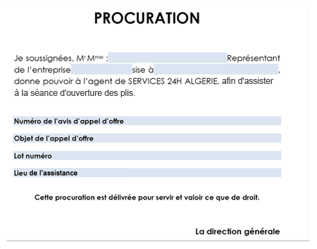 Exemple De Lettre De Procuration Suisse | Covering Letter Example